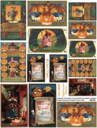 Halloween Don'ts Collage Sheet