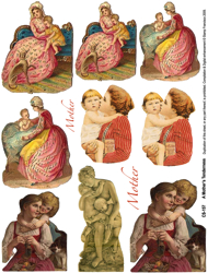 Mother Tenderness Collage Sheet