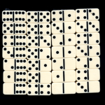 Domino set of 28